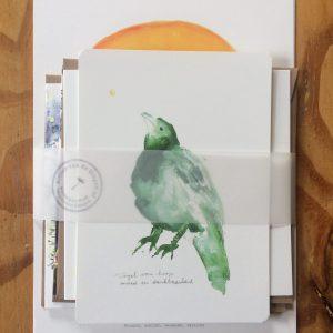 Setjes kaarten en Artprints